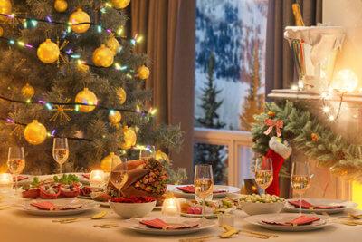 Foto de mesa de festas de fim de ano - Blog Cid Pitombo - Obesidade e Cirurgia Bariátrica
