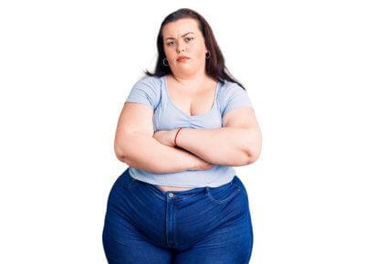 Imagem de mulher para artigo do blog - Obesidade é questão de saúde